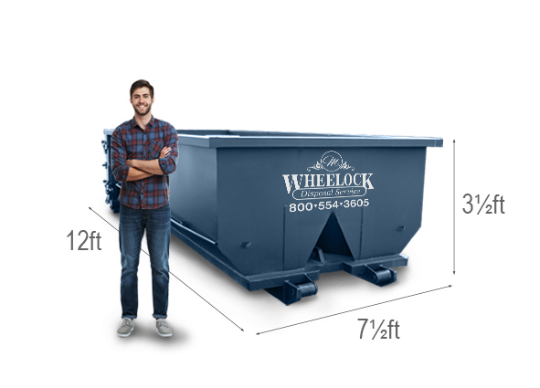 20 Yard Roll Off Dumpster Rental M Wheelock Disposal Service